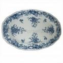 Villeroy & Boch Valeria blau Servierplatte 31,5 x 21,0 cm