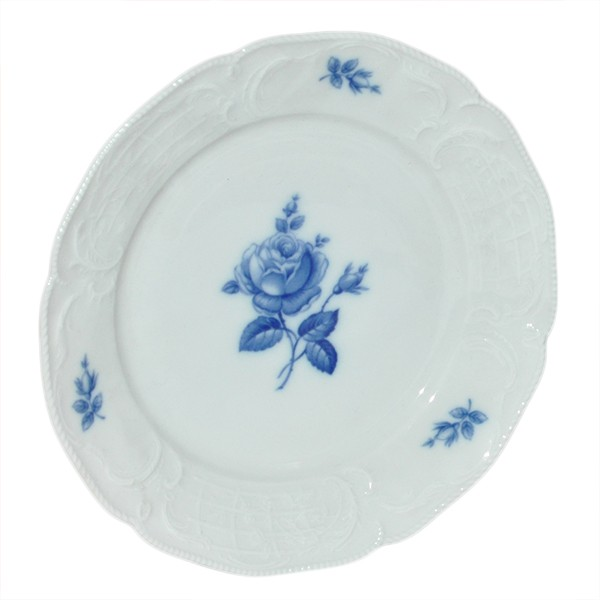 Rosenthal SANSSOUCI grüne Blume ALT KUCHENTELLER 20 cm Plate Teller Frühstückste